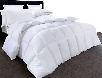 Cute Queen Comforter Cuddledown Quilts Hypoallergenic Plush