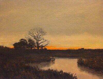 ld Realism Landscape OIL PAINTING ART IMPRESSIONIST Original (Glow Malerei)