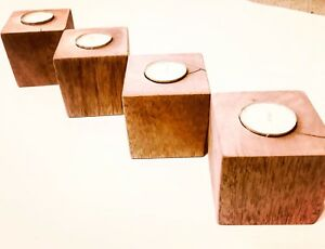 Candle block holders