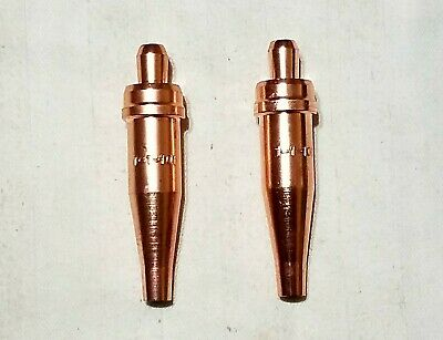 New Victor Style 1-1-101 Acetylene Cutting Torch Tip Lot Of 2 St2600fc Ca2460