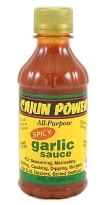 Cajun Power All Purpose Spicy Garlic Sauce Hot Dip Cajun Power Spicy Garlic Sauce