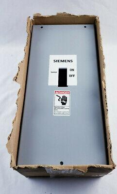 Siemens Circuit Breaker Enclosure E2n1s 100a 600v Nema New