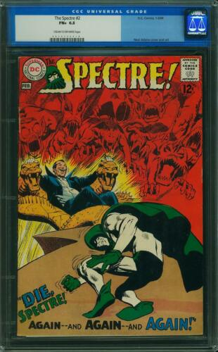 Spectre # 2 CGC 6.5 -- 1968 -- Neal Adams cover.  A+ centering #0010332018