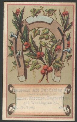 Victorian Trade Card American Art Publishing Frames Chromes Engravings (Boston Trade Frames)
