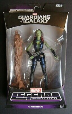 Marvel Legends GAMORA Guardians of the Galaxy action figure (Groot BAF Series!)