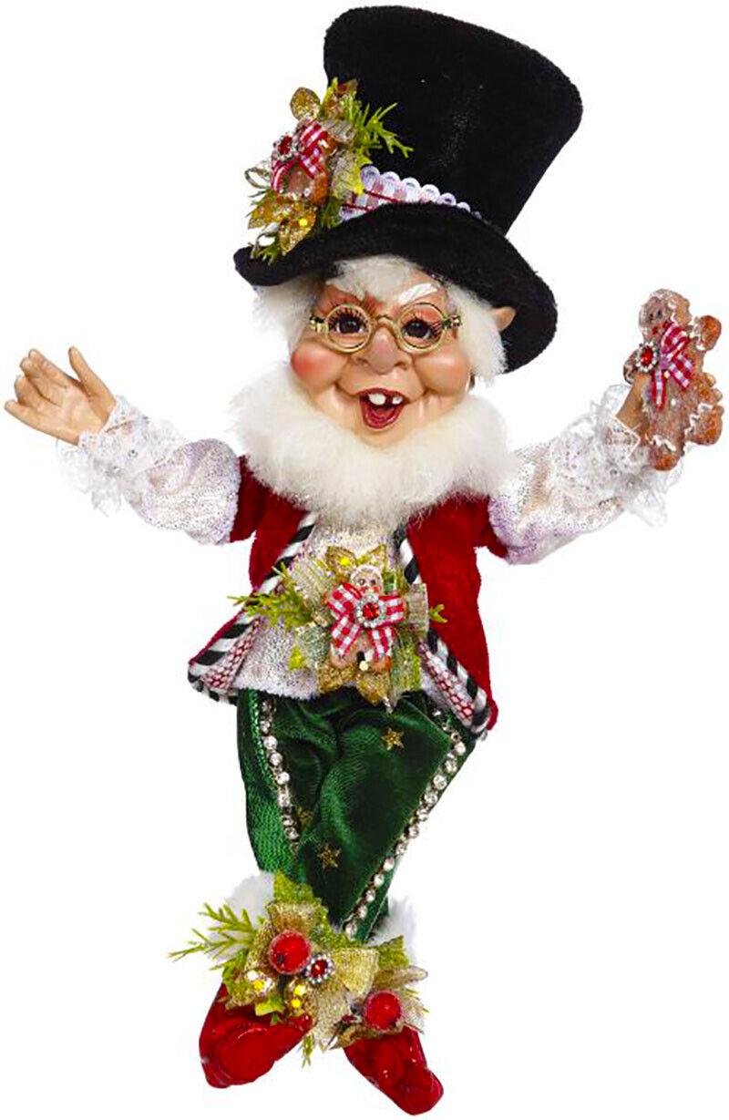 """[Mark Roberts Elves - Cookies & Milk Elf 51-05576 Small 12.5"""" Figurine </Title]"""
