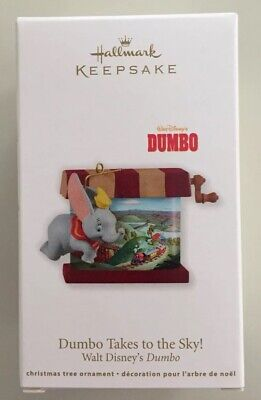 Hallmark 2011 Disney Dumbo Takes To The Sky Keepsake Christmas Ornament