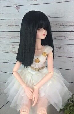 "8-9 Custom Doll Wig fits 1/3 SD BJD, Wellie Wisher... ""Lill Sophie Choice  bn7"