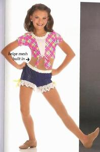 Country-Cowboy-Hoedown-Dance-Costume-Jazz-Tap-Child-Adult