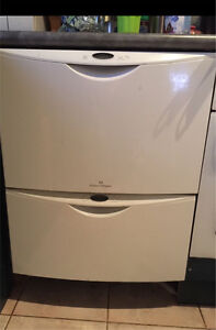 Fisher paykel twin door dishwasher Meadowbank Ryde Area Preview