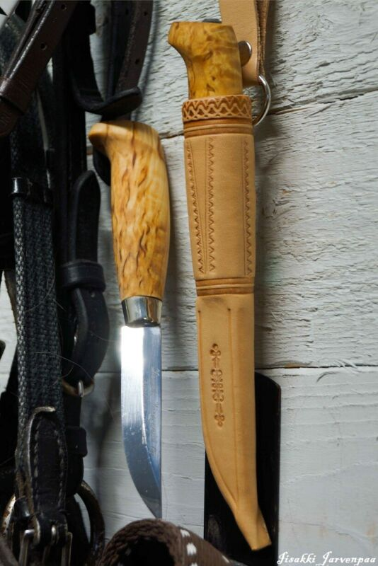 Jarvenpaa 6323 Scandinavian Knife Imported from Finland