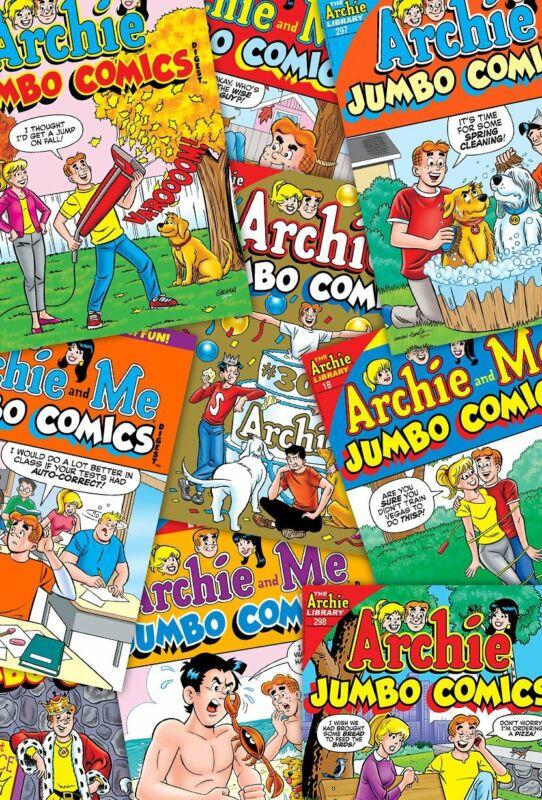 Archie Comics Digest Value Bundle (Archie Jumbo Comics Digest, Archie & Me)