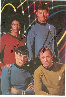 STAR TREK-GROUP PICTURE-MCCOY,SPOCK,UHURA,KIRK-4