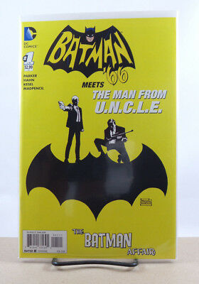 Batman 66 Meets The Man From Uncle  1 1 25 Risso Variant Cover Nm Dc Comics 2015