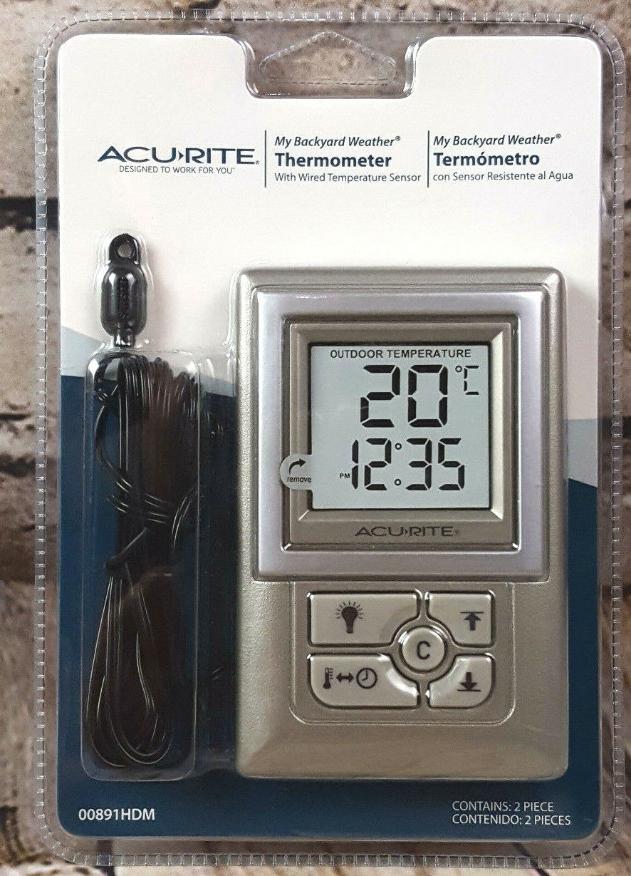 Acu-Rite Acu Rite Indoor Outdoor Digital Thermometer With Hu