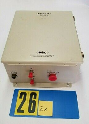 1x Nrc Current Amplifier Ca-300e Nrc