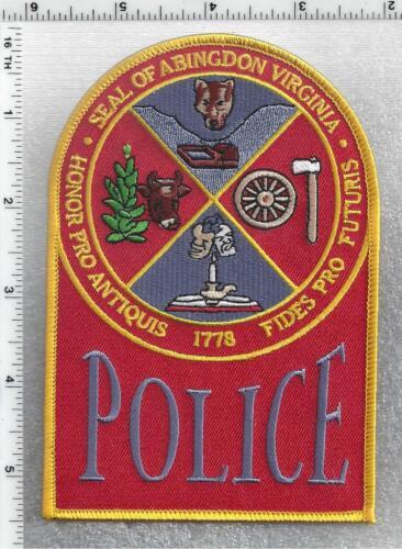 Abingdon Police (Virginia) 3rd Issue Shoulder Patch