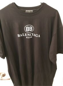 "Balenciaga ""Mode"" Tee - Large"