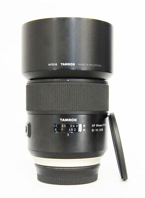 # Tamron SP 85mm F/1.8 VC Di USD Lens For Canon + Filter S/N 011476
