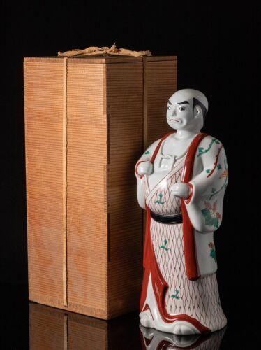 Japanese Sakaida Kakiemon Statue 酒井田柿右衛門 / W 14 × H 34 [cm]
