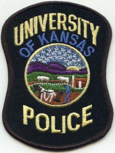 UNIVERSITY OF KANSAS KS CAMPUS POLICE PATCH
