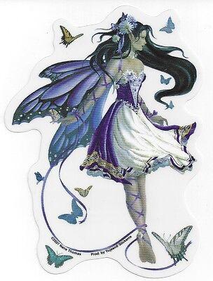 VIOLET MELODY Fairy Sticker Car Decal Nene Thomas faerie faery butterflies