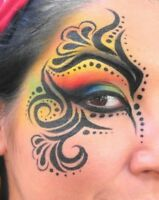 Professional face/body painter for hire