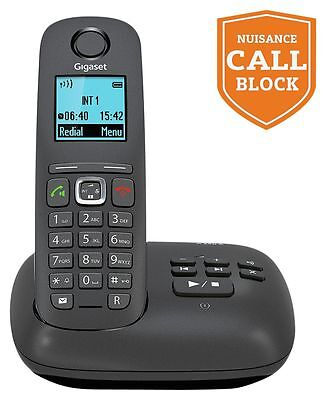 Gigaset A550A Cordless Telephone with Answer Machine - Single