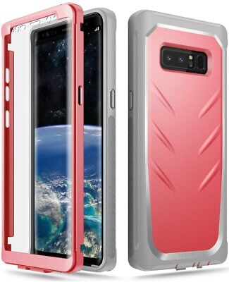 For Galaxy Note 8 Full-Body Rugged Case Poetic Revolution Shockproof Cover Pink for sale  Shipping to India