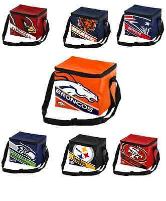 NFL Football  Team Logo 6 Pack Cooler Lunch Bag - Pick Team - Nfl Lunch Bag