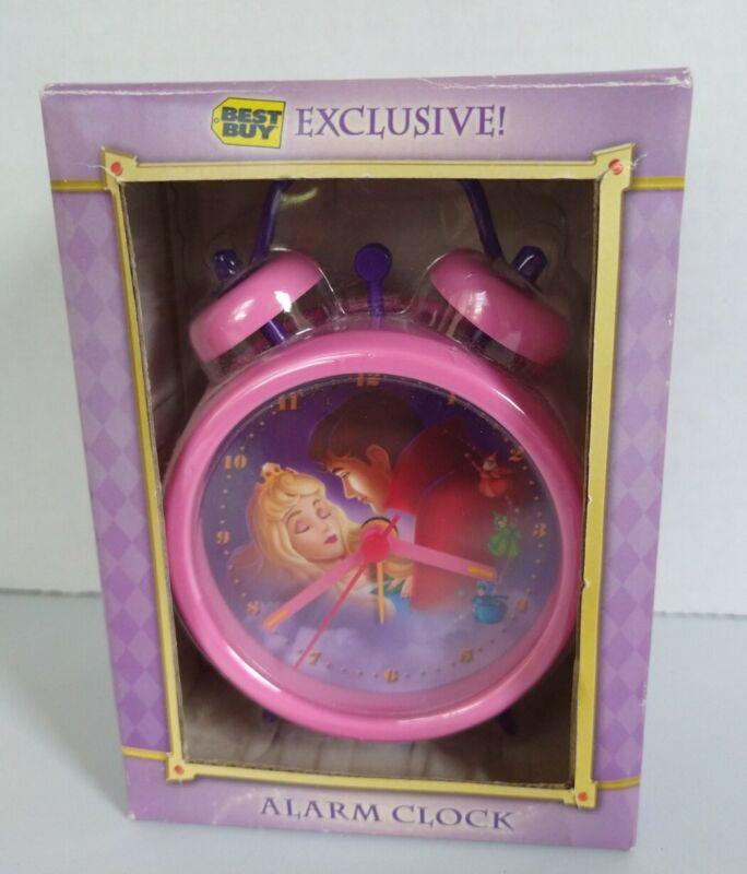 Disney Sleeping Beauty 50th Anniversary Alarm Clock-Pink BEST BUY Exclusive