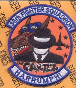 USAF-36th-FIGHTER-SQUADRON-FS-FIEND-The-CARTEL-Harrumph-aviation-patch