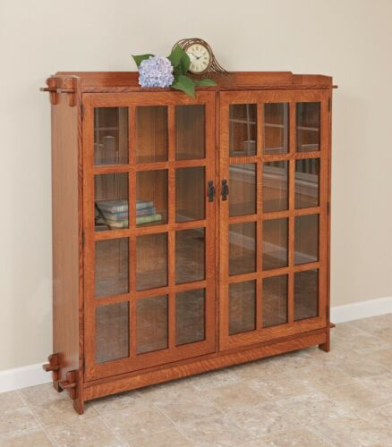Mission Arts And Crafts | Stickley Style | Double Bookcase | Made To Order!