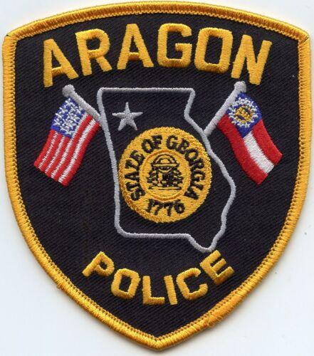 ARAGON GEORGIA GA POLICE PATCH