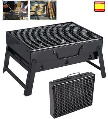 Portable Fold Barbecue Charcoal Grill Stove Shish Kabob BBQ Patio Camping Cooker