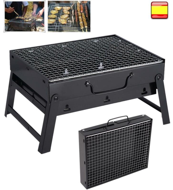 Portable Fold Barbecue Charcoal Grill Stove Shish Kabob BBQ