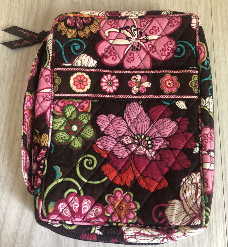 Vera Bradley Bible Cover Mod Floral Brown