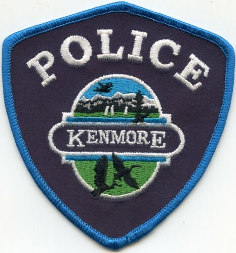 KENMORE WASHINGTON WA POLICE PATCH