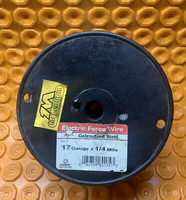 10 Pounds Mclendon Electric Fence Wire 17 Gauge X 14 Mile Galvanized Steel