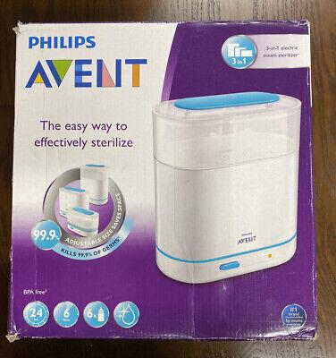Philips AVENT 3-in-1 Electric Steam Sterilizer OPEN BOX
