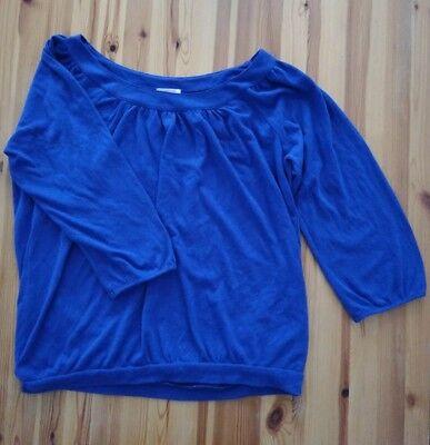 Schönes Esprit Oberteil,Damen,Frauen, Mädchen,Größe s,top,blau,3/4 arm,Bluse