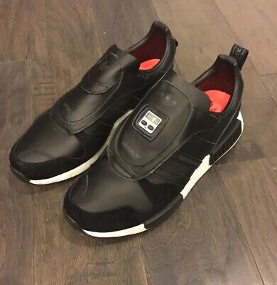 Adidas Micropacer X R1 Micro Pacer Shoes Sneakers New Black EE3625 Men's 10 for sale  Shipping to Canada