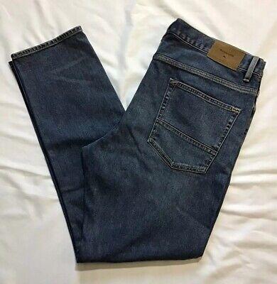 Quicksilver Mens Straight Fit Jeans Revolver Medium Blue 40x32