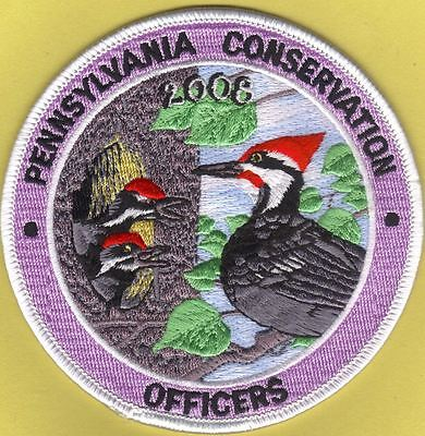 Pa Pennsylvania Fish Game Commission NAWEOA Related COPA 2008 Woodpecker Patch