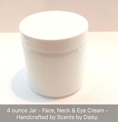 Argan Oil - Face, Neck & Eye Cream - Restorative and Anti-Aging Benefits - 4 oz.
