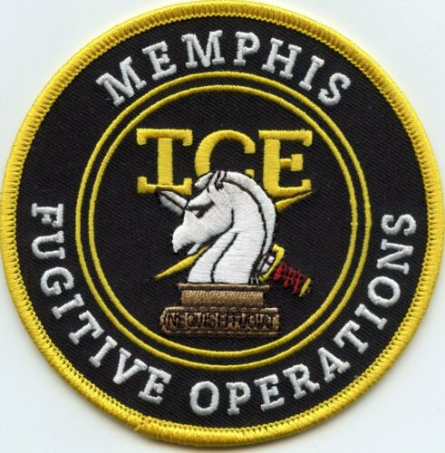 MEMPHIS TENNESSEE TN ICE FUGITIVE OPERATIONS colorful POLICE PATCH