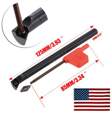 S12m-sducr07 Internal Lathe Threading Boring Bar Turning Tool Holder 1x Insert