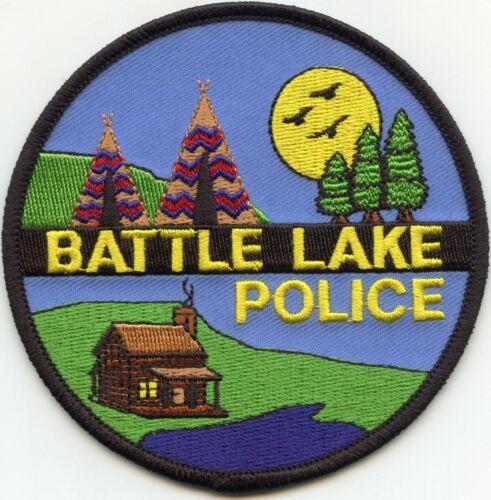 BATTLE LAKE MINNESOTA MN POLICE PATCH