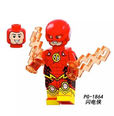 CUSTOM FLASH MINIFIGURE THAT GOES WITH LEGO USA SELLER