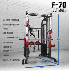 ARMORTECH F70 ULTIMATE FUNCTIONAL TRAINER